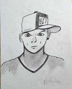 Wizard Gangster Drawing