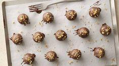 Gluten-Free Chocolate-Peanut Butter Cookie Truffles