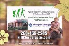 Here's the new anodyne therapy insight segment. Please share this with your friends, enemies, Co-workers, and family. If you have any questions please contact me or check out my website nillchiropractic.com or anodynetherapy.com