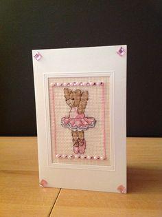 """""""Ballerina Bear"""" in Pink by Joolzanne Designs"""