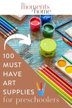 Looking to enjoy arts and crafts at home with your preschool or kindergarten aged child? These fabulous art supplies will stock your craft cabinet or homeschool shelf with hours of endless fun and creative play. Hobbies To Try, Hobbies That Make Money, Diy Crafts And Hobbies, Arts And Crafts, Paper Craft Supplies, Art Supplies, Hands On Activities, Book Activities, Play Doh Tools