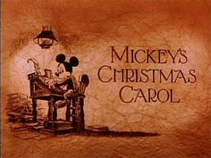 It's pretty impressive how Disney was able to capture the essence of Dicken's Christmas Carol in about half an hour for Mickey's Christmas Carol. Disney characters being cast for the roles was just icing on the cake. Christmas Carol Film, Great Christmas Movies, Mickey Christmas, Christmas Shows, Christmas Music, Holiday Movies, Christmas Time, Christmas Classics, Christmas Ideas