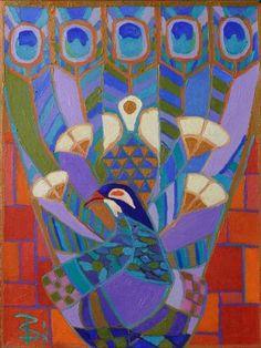 Peacock Phoenix (Painting No.