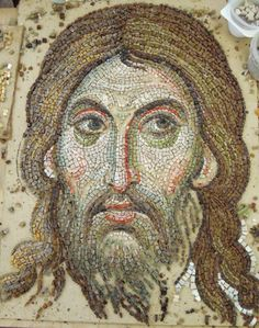 Jesus Christ mosaic  https://www.facebook.com/Beauty-of-Christianity-1437415816562361/