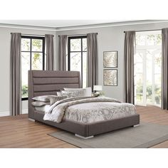 Fabriana King Upholstered Bed