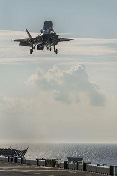 F-35B Vertical Landing by Lockheed Martin