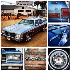 1986 Oldsmobile Custom Cruiser Wagon #1980s #oldsmobile #stationwagon