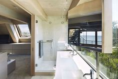 A-Frame Rethink on Fire Island by Bromley Caldari Architects