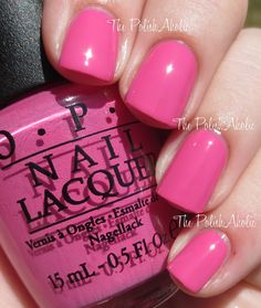 OPI Fall 2014 Nordic Collection uzi Has A Swede Tooth is a strawberry pink creme. This is another nice pop of color in a mainly neutral palette! Opi Collections, Opi Colors, Great Nails, Winter Beauty, Katy Perry, Pink Nails, Color Pop, Swatch, Fall