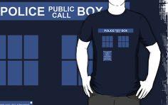 Dr. Who T.A.R.D.I.S. T-shirt by J. William Grantham