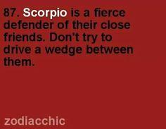 blog scorpio friend
