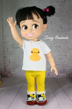 Disney Animator's doll Outfits by nubanded, via Flickr