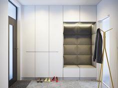 Shoe Cabinet Design, Hall Wardrobe, Hallway Furniture, Hallway Storage, Condo Living, Interior Decorating, Interior Design, Black Walls, Modern Kitchen Design