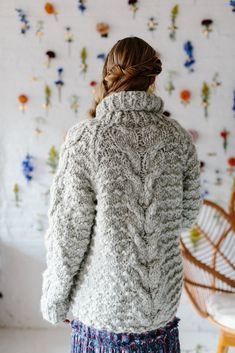 Knit Collage Knitalong Snowcap Cardigan You are in the right place about stricken kindermtze Here we Knit Cardigan Pattern, Chunky Cardigan, Chunky Yarn, Chunky Knits, Sweater Knitting Patterns, Knitting Designs, Knitting Ideas, Jumper Patterns, Knit Patterns