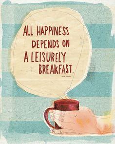 mmm, breakfast