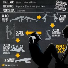 Have you completed the Fitness with a friend Challenge yet? #fitness #Challenge #Workout #circuit #health