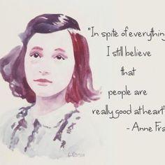 Anne Frank - so inspiring!