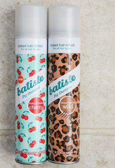 Best dry shampoo!! I just got some, but next time I will get it for brown hair, since this tends to make my hair look gray. But it works AWESOME!!