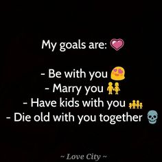 - Relationship Goals -  ______________  Every couple need a relationship goals. Mine is to 'be with you'. _______________  #write #writers #writersofinstagram #writerscommunity #writersnetwork #poem #igwriters #igquotes #love #lovequotes #relationshipgoals #couple #couplegoals #you #heshe #future #stories #indianwriters #readwrite #readwriteunite #follow #like #lovecitypage