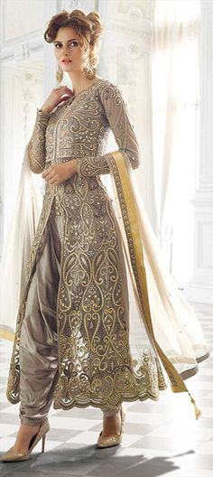 Shop rose pink net achkan dhoti style salwar kameez , freeshipping all over the world , Item code Saris, Indian Dresses, Indian Outfits, Pakistani Dresses, Punjabi Dress, Punjabi Suits, Salwar Dress, Achkan, Shrug For Dresses