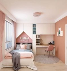 Smart Home Interior Design Ideas. In this video you will get some ideas that may help you to find the best Interior design for your apartment. Small Room Design Bedroom, Small Bedroom Designs, Home Room Design, Room Ideas Bedroom, Kids Room Design, Bedroom Design Minimalist, Bedroom Designs For Couples, Diy Bedroom, Small Bedroom Ideas For Women