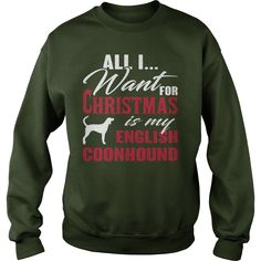 All I want for Christmas is my English Coonhound