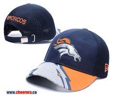0bcad215f94 NFL Denver Broncos Adjustable Blue SnapBack Hat