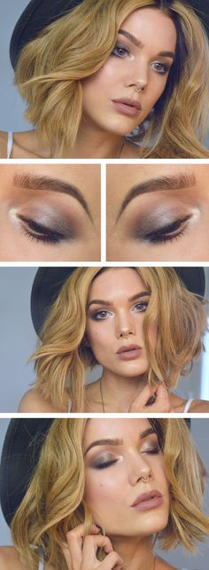 Trendy makeup looks colorful linda hallberg 27 ideas Hd Make Up, Make Up Gold, All Things Beauty, Beauty Make Up, Hair Beauty, Linda Hallberg, Makeup Tips, Hair Makeup, Makeup Ideas