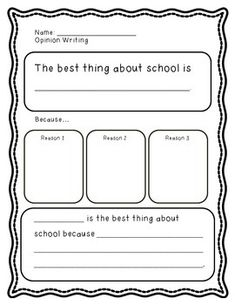 my mom is best opinion writing graphic organizer bie w use this piece while teaching students how to write about their opinions students should explain