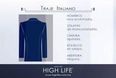 Destella con un traje italiano, símbolo de sofisticación por su corte angosto y silueta elegante, moderna y distinguida.