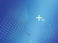 HP blue shade wallpaper design