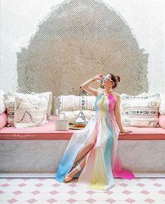 "Sands Hotel & Spa on Instagram: ""Sands style via @jenniferlake 💗 #sandshotelandspa"" Palm Desert, Desert Oasis, Sands Hotel, Minimalist Fashion Women, Desert Fashion, Moroccan Design, Street Style Summer, Summer Outfits Women, Faux Wrap Dress"