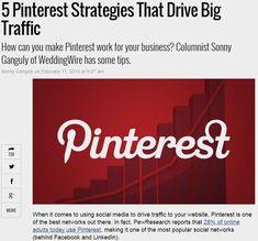 5 Pinterest Strategies That Drive Big Traffic by