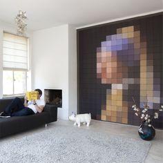 Foto Kunst Voor Aan De Muur.106 Beste Afbeeldingen Van Kunst Muur Muur Kunst En Interieur