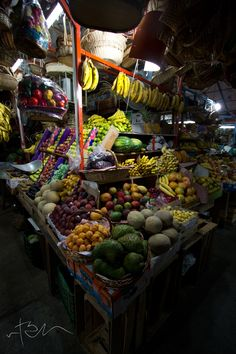 Mercado de Oaxaca, Mexico.