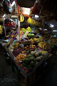 Mercado de Oaxaca.