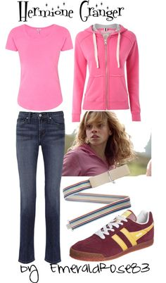 """""""Harry Potter - Hermione Granger"""" by emeraldrose83 on Polyvore"""