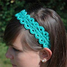 crochet headband...free pattern