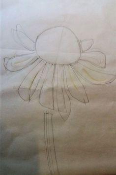 shibori flower design
