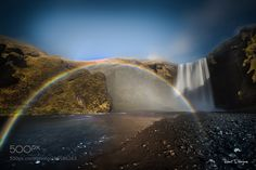 Iceland waterfall by tenchinage #Landscapes #Landscapephotography #Nature #Travel #photography #pictureoftheday #photooftheday #photooftheweek #trending #trendingnow #picoftheday #picoftheweek