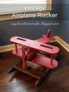 19 Ideas For Baby Boy Nursery Vintage Airplane Room Decor Baby Boy Rooms, Baby Boy Nurseries, Nursery Themes, Nursery Room, Themed Nursery, Nursery Ideas, Bedroom, Airplane Room, Airplane Decor