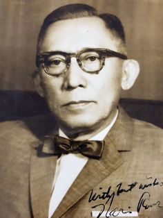 Narciso R. Ramos, Philippine Secretary of Foreign Affairs, 1960s #kasaysayan #geni President Of The Philippines, Filipino Fashion, Manila Philippines, Family Search, My Heritage, The Godfather, Founding Fathers, Roman Catholic, Pinoy