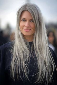 I will go there some day...sarah harris grey hair - Google Search