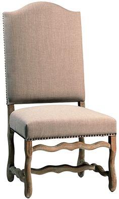 Birch hardwood frame     Oak Legs in natural finish     Linen blend upholstery 24*26*47