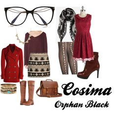 """Orphan Black - Cosima"" by vegemiter on Polyvore"