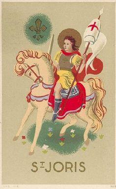 Holy Card St. Joris | Flickr - Photo Sharing!