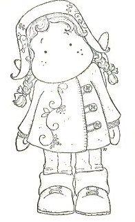 tilda with dalecarlia coat