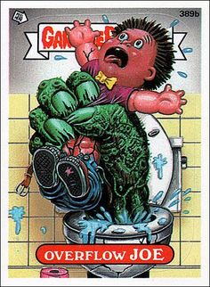smoky joe garbage pail kids | Garbage Pail Kids: Series 10 (Base Set) 389b-A by Topps