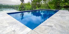 Silver Travertine pavers and tiles, enduring and timeless, are the perfect compliment to any home. Outdoor Pavers, Pool Pavers, Outdoor Stone, Driveway Pavers, Pool Coping, Backyard Pool Designs, Pool Landscaping, Coastal Landscaping, Backyard Patio
