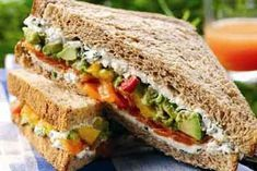 Savvy Vegetarian's Best, Favorite, Most Popular Vegan Sandwich Recipes - Sandwiches are beautiful, sandwiches are fine. I like sandwiches, I eat them all the time Vegetarian Sandwich Recipes, Veg Sandwich, Tofu Recipes, Vegetarian Cooking, Appetizer Sandwiches, Wrap Sandwiches, Vegan Sandwiches, Soup Kitchen, Kitchen Recipes